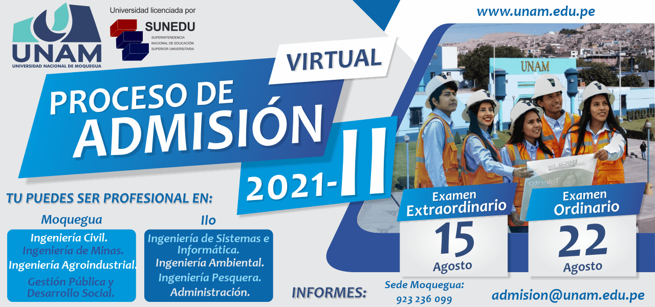 Admision banner web 2021 2